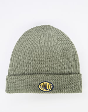 Analog Cuff Beanie - Dusty Olive