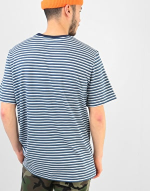 Nike SB Stripe T-Shirt -  White/Obsidian/White