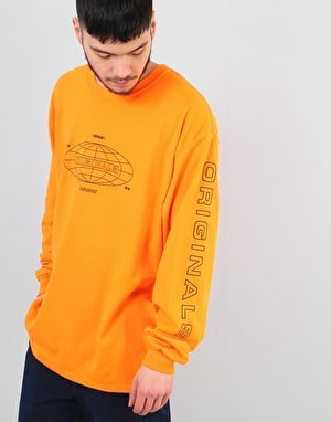 Route One Forever LS T-Shirt - Safety Orange