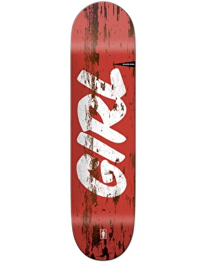 Girl McCrank Sign Painter Skateboard Deck - 8.5