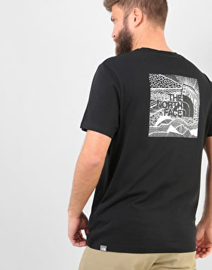 The North Face S/S Red Box Celebration T-Shirt - TNF Black