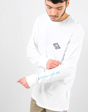 Element Layer L/S T-Shirt - Optic White