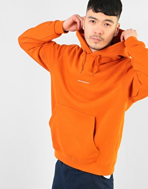Poetic Collective Sleeve Pullover Hoodie - Orange
