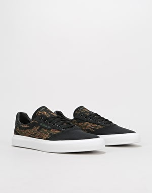 Adidas 3MC Skate Shoes - Core Black/Brown/Night Cargo