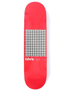 Fabric Houndstooth Skateboard Deck - 8