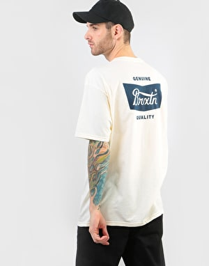 Brixton Stith T-Shirt - Off White