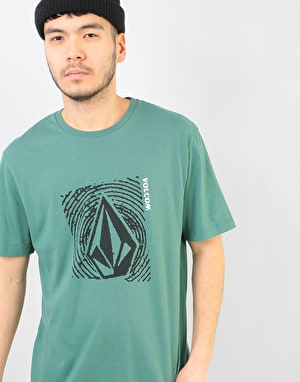 Volcom Stonar Waves DD T-Shirt - Pine