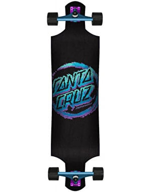 Santa Cruz Throwdown Dot Drop Down Longboard - 40