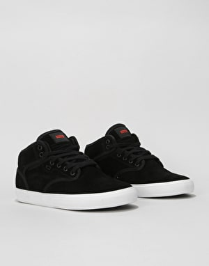 Globe Tribe Skate Shoes - Black/Tobacco Brown