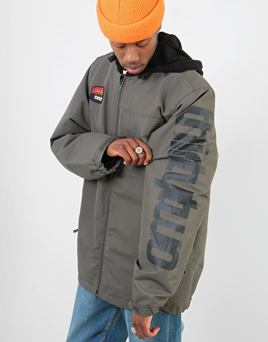 ThirtyTwo x Santa Cruz Merchant 2019 Snowboard Jacket - Charcoal