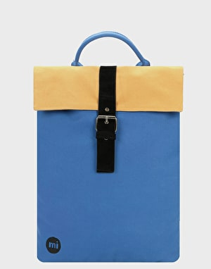 Mi-Pac Contrast Canvas Day Pack - Cobalt/Camel