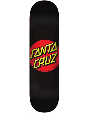 Santa Cruz Classic Dot Wide Tip Skateboard Deck - 8.375