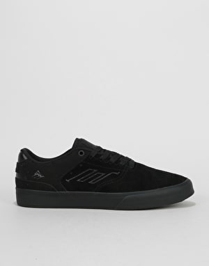 Emerica The Reynolds Low Vulc Skate Shoes - Black Raw
