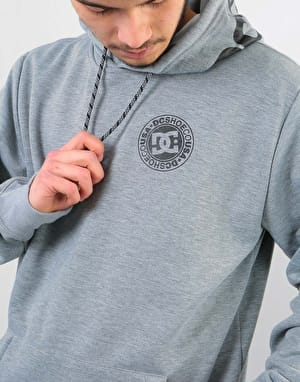DC Snowstar Pullover Hoodie - Neutral Grey Heather