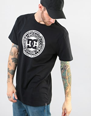 DC Circle Star T-Shirt - Black