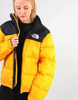 The North Face Womens 1996 Retro Nuptse Oversized Jacket - Orange