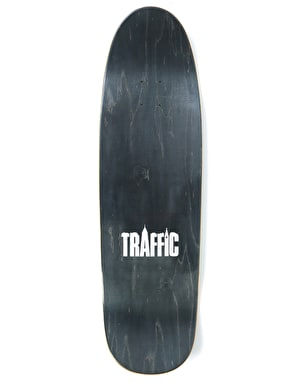 Traffic Oyola Devastation Skateboard Deck - Slappy Shape 9