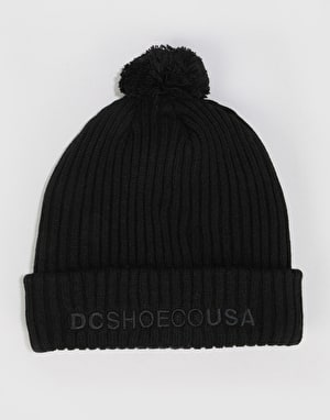 DC Trilogy Bobble Beanie - Black