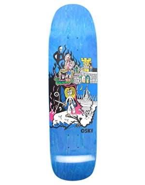 Polar Oskar Castle Hood Skateboard Deck - P9 Shape 8.625