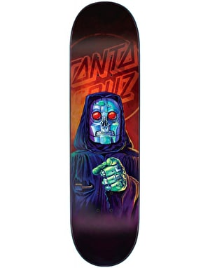 Santa Cruz The Worst Robot Reaper Skateboard Deck - 8