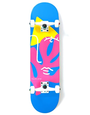 Route One Abstract Complete Skateboard - 8.125