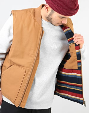Dickies Calverton Canvas Vest – Pecan