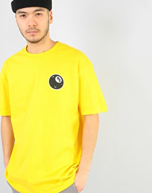 Shake Junt 8 Ball T-Shirt - Yellow
