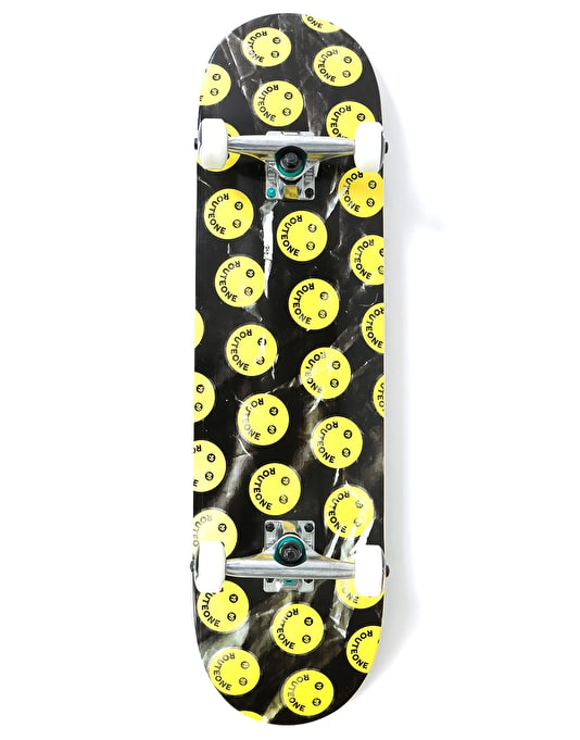 Route One Emoticon Complete Skateboard - 8.25