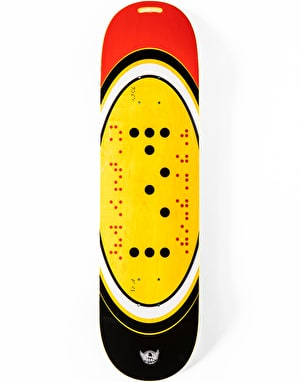 Real Mancina x Actions REALized Braile Skateboard Deck - 8.25