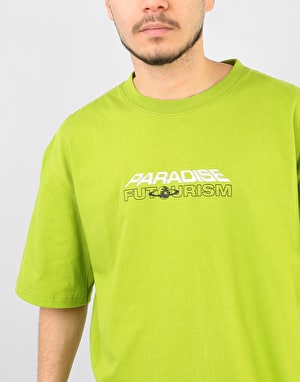 Paradise Youth Club Future Pleasure T-Shirt - Green