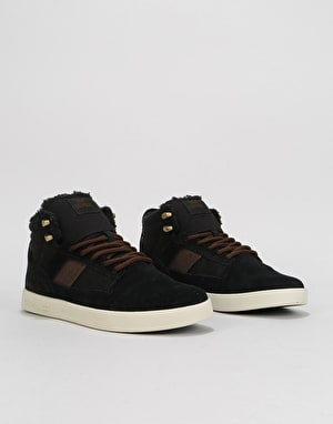 Supra Bandit Skate Shoes - Black/Bone