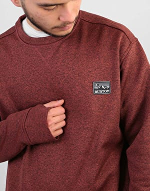 Burton Oak Sweatshirt - Bitters Heather