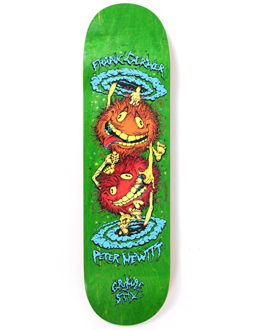 Grimple Stix (Anti Hero) Gerwer/Hewitt GS II Skateboard Deck - 8.28""