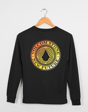 Volcom Volcomsphere LS Boys T-Shirt - Black