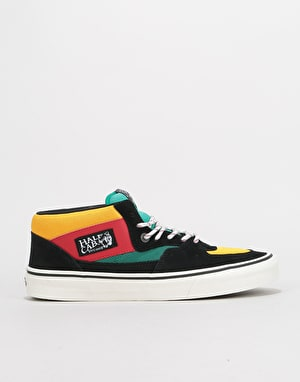 Vans Half Cab Skate Shoes - (Sporty) Black/Multi