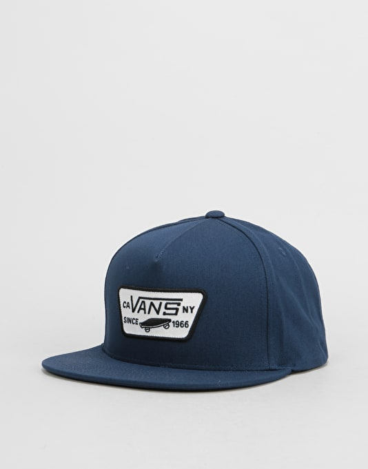 Vans Full Patch Snapback Cap - Dress Blue Dress Blue  53d74365048