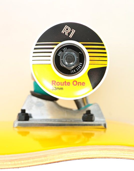 Route One Broadcasting Complete Skateboard - 8""