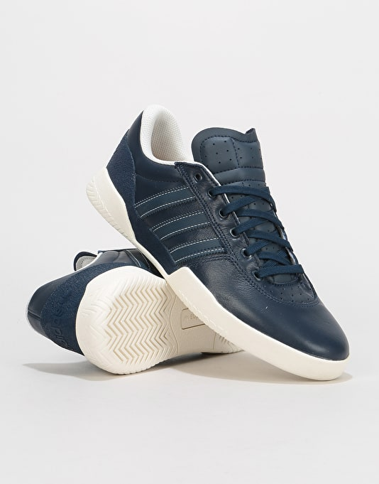 Adidas City Cup Skate Shoes - Collegiate Navy/Chalk White