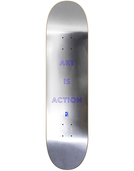 Poetic Collective Art is Action Skateboard Deck - 8.25""