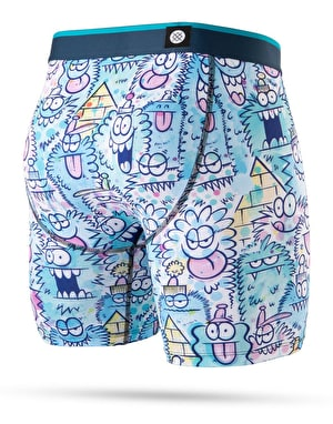 Stance x Kevin Lyons Monster Watercolor Boxer Shorts - Blue