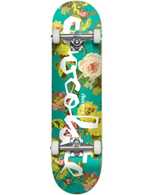 Chocolate Perez Floral Chunk Complete Skateboard - 7.75