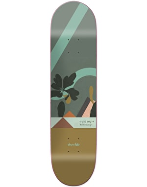 Chocolate Tershy Hecox Tropical Studies Skateboard Deck - 8.5