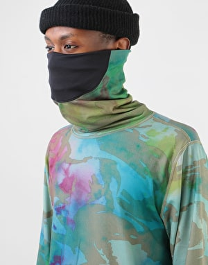 Burton Midweight Long Neck Thermal Top - Festival Camo