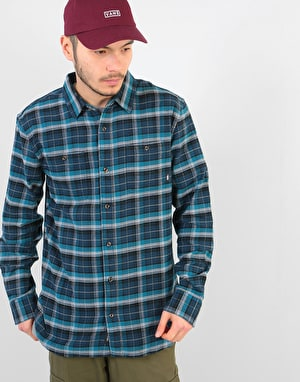 Vans Banfield III L/S Shirt - Dress Blues/Corsair