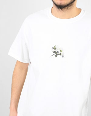 Route One Peonies OG T-Shirt - White