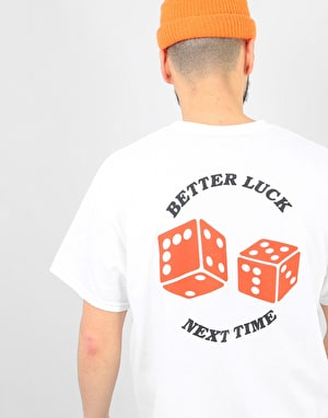 Route One Better Luck Next Time T-Shirt - White