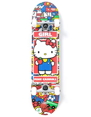 Girl x Hello Kitty Carroll Hella Kitty Complete Skateboard - 7.5