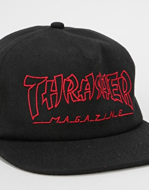 Thrasher China Banks Snapback Cap - Black