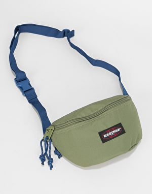 Eastpak Springer Cross Body Bag - Khaki/Blue