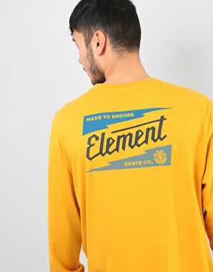 Element Gizmo L/S T-Shirt - Mineral Yellow